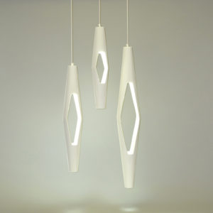 Dimond Lights 3 pendant