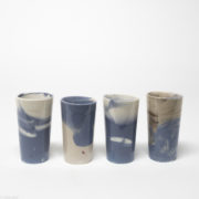 Playing with BLue 4 cups small