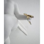 Swan left hand detail