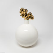 White Bomb with Gold Ginger medium