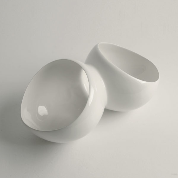petal bowls white 3-4 view