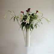 roos met bloemen*