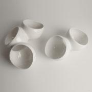 tri-petal white