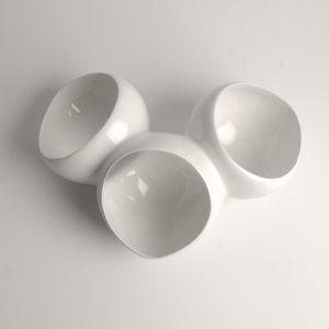 tripetal white topview