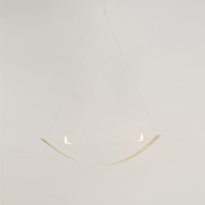8 Bow Suspended lighted 2 sides